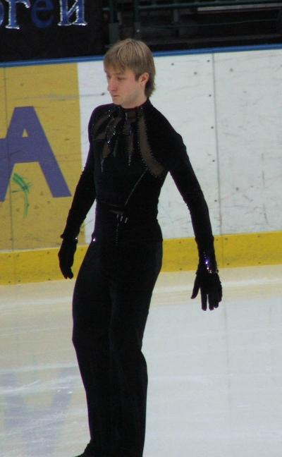 Евгений Плющенко (короткая программа)